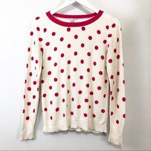 Halogen Polka Dot Sweater size S